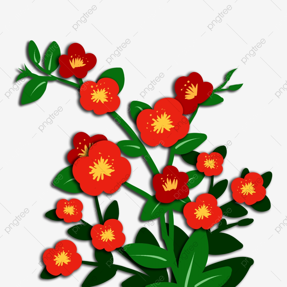 Clip Art Flowers 3