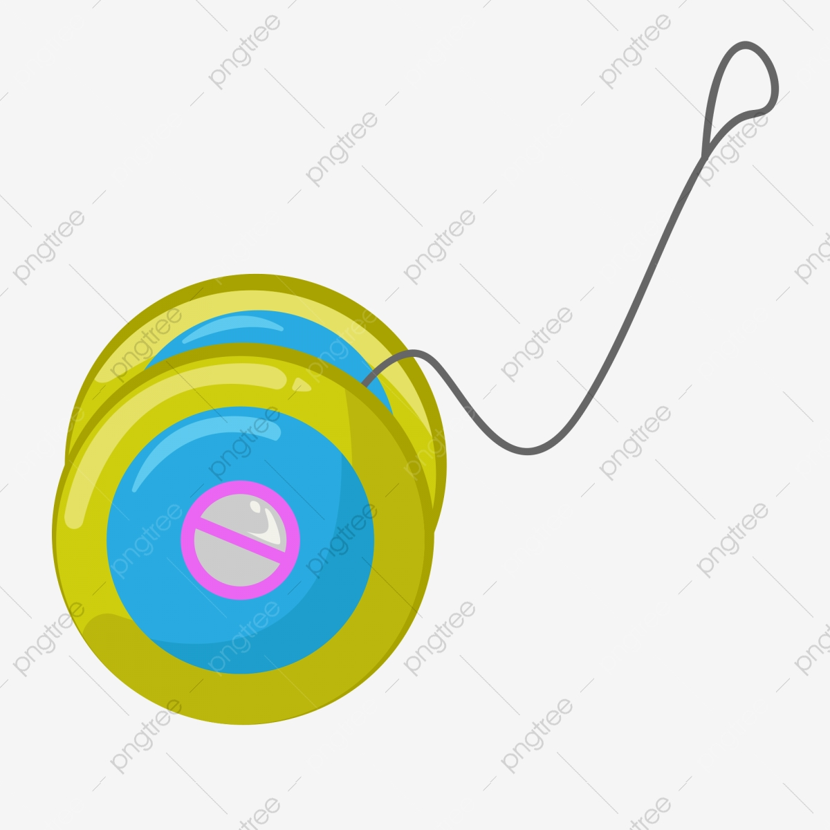 Toy Yo Yo Play Game, Game, Hand, Toy PNG and Vector with Transparent  Background for Free Download