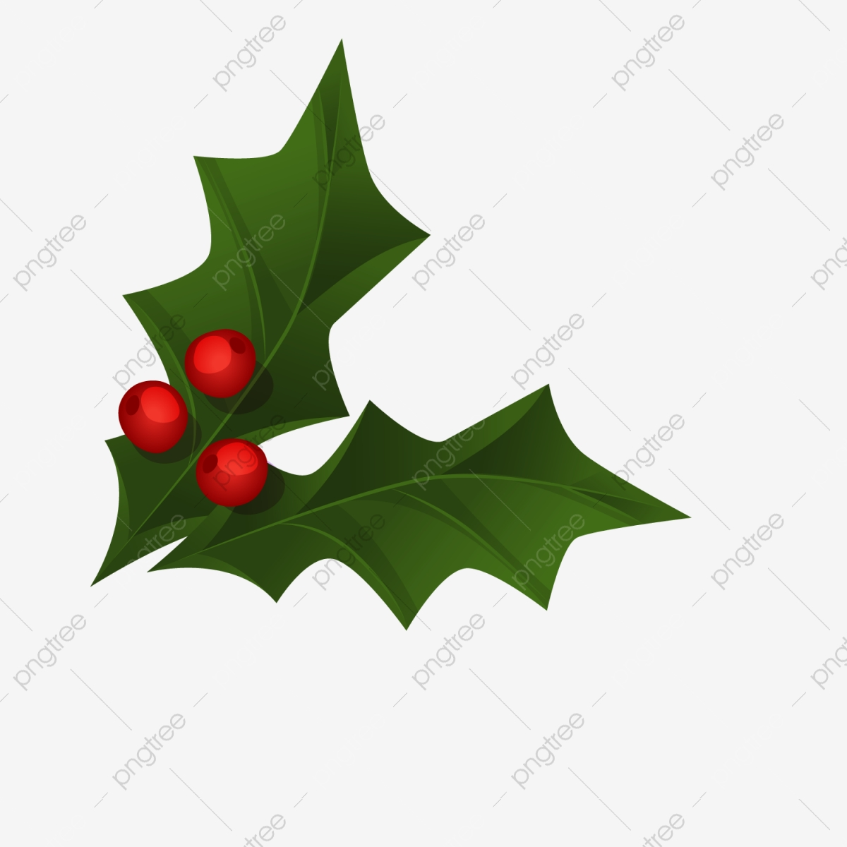 Christmas Leaves.Two Pieces Of Christmas Leaves Christmas Decoration Gift