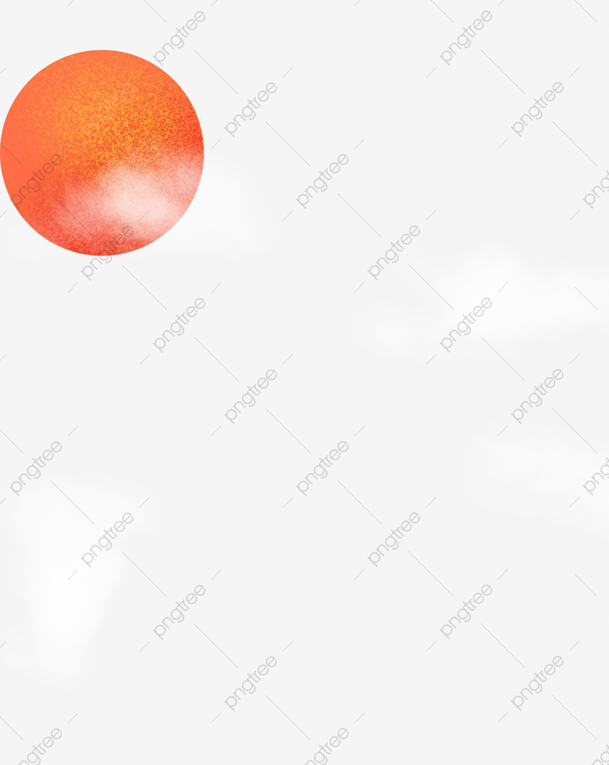 White Clouds Sun Red Sun Texture, Sky, Sunlight, Decoration PNG