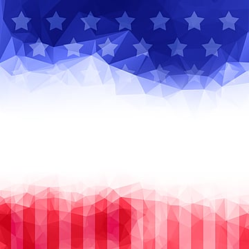 American Fashion Fantasy Gradient Star Decorative Border, Usa, National Flag, Flag PNG and PSD