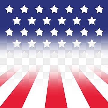 American Stereo Fantasy Star Decorative Border, Usa, National Flag, Flag PNG and PSD
