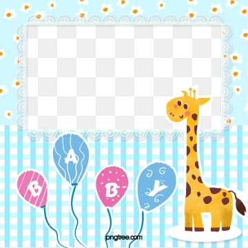 blue fresh plaid baby album photo paper, Baby, Element, Cartoon PNG and PSD