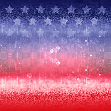Bright illusory American Star Gradient Border, Usa, National Flag, Flag PNG and PSD