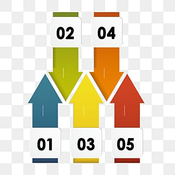 color origami step chart label, Information Chart, Chart, Origami PNG and PSD