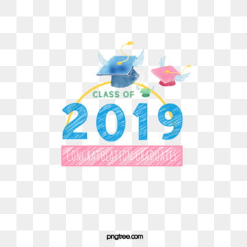 creative elements of hand painted fresh graduation hat in 2019, 2019, Bachelor Cap, Hand Painted PNG and PSD
