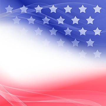 creative illusion gradual change american flag border, Usa, National Flag, Flag PNG and PSD
