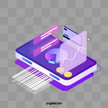 electronic payment equidistant 25d effect mobile phone elements, 3d, Chart, Electronic Payment PNG and PSD