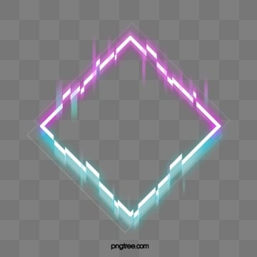 fault neon border element, Troubleshooting Wind, Glitch, Red PNG and PSD