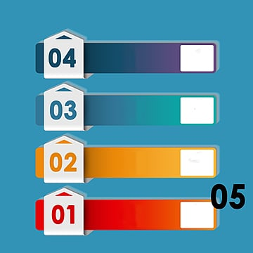 gradient information chart label, Information Chart, Classified Labels, Origami PNG and PSD
