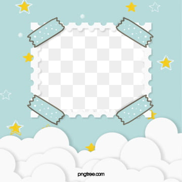 green flat wind hand painted baby album, Flaky Clouds, Cartoon, Lovely PNG and PSD