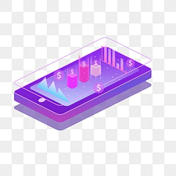 purple 25d stereo mobile finance, Business Finance, Mobile Phone, Data Graph PNG and PSD