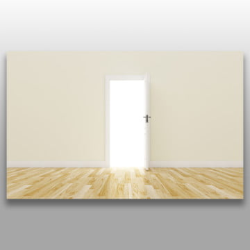 the open door is a concept of the opportunity and hopefulness to reach the success, 3d, Alone, Architecture PNG and PSD