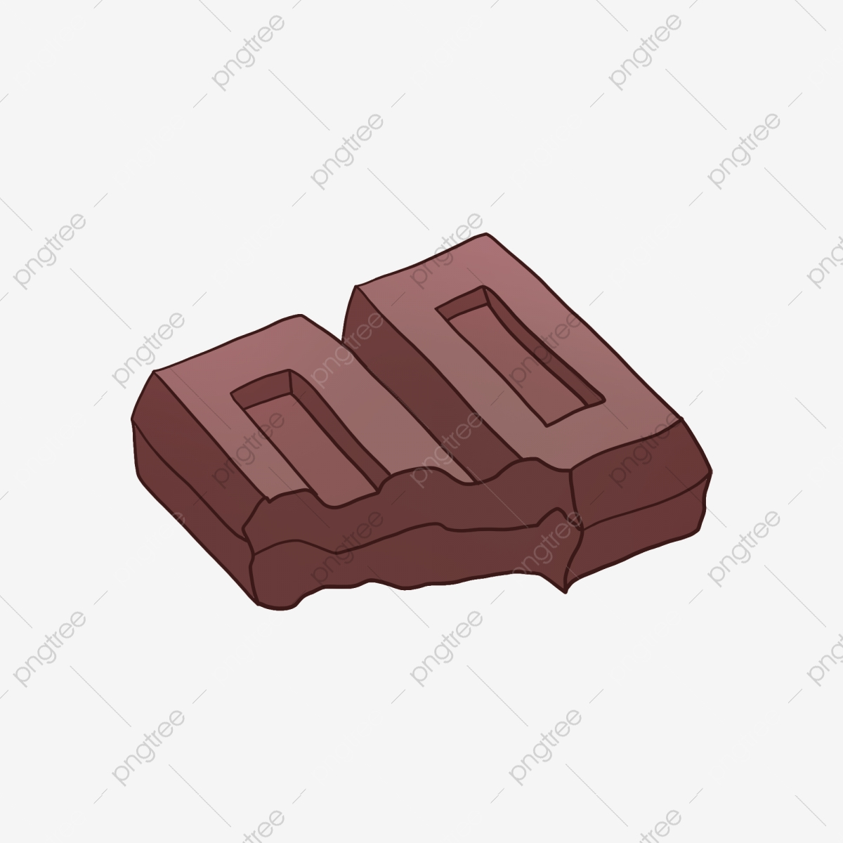 Two chocolate bars, Ice cream Chocolate bar, chocolate transparent  background PNG clipart | HiClipart