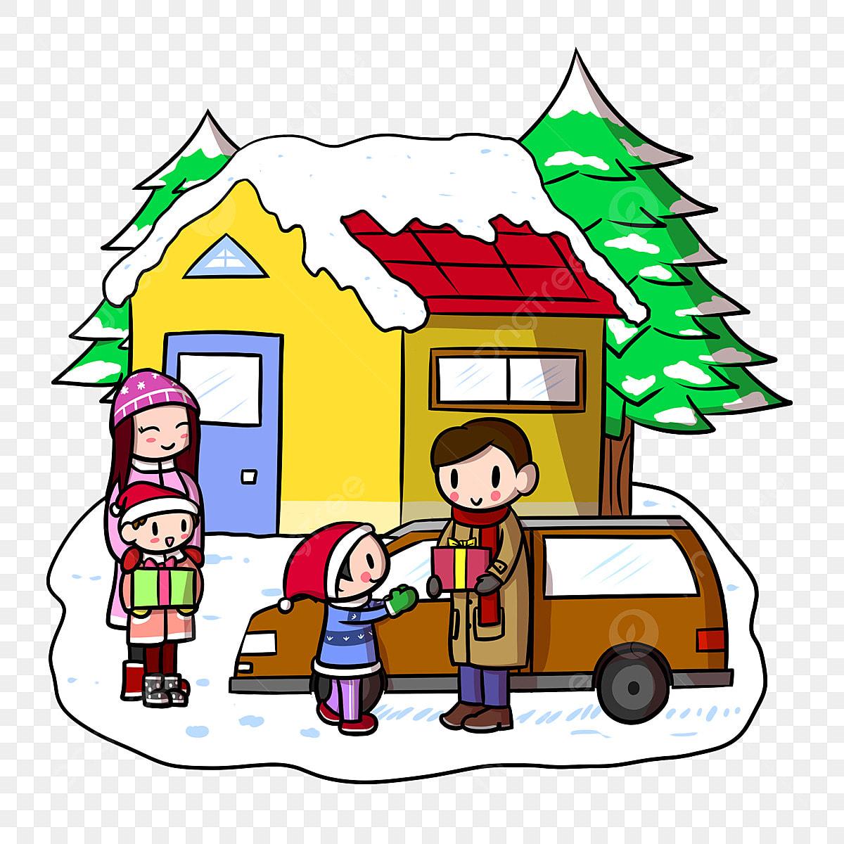 Kartun Christmas Christmas Christmas Kanak Kanak Hadiah