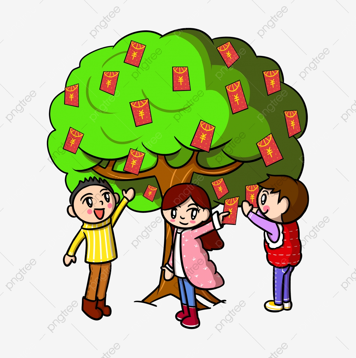 Royalty Free Clipart Image of a Wealthy Family #278910 | iCLIPART.com