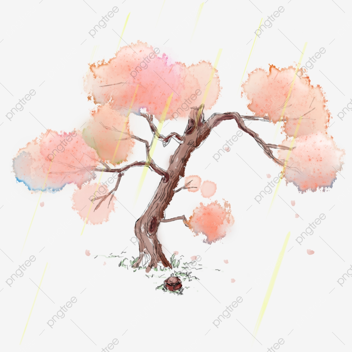 Cherry Blossom Tree Png Images Vector And Psd Files Free Download On Pngtree