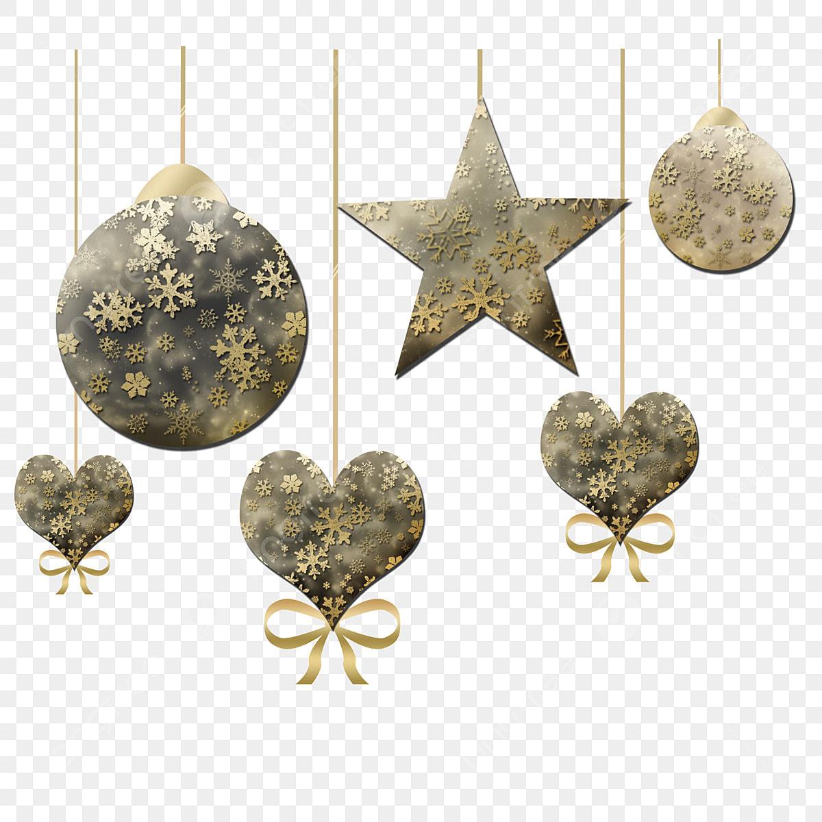 Gold Christmas Ornaments Png.Christmas Christmas Night Ornaments Black Gold Ornaments