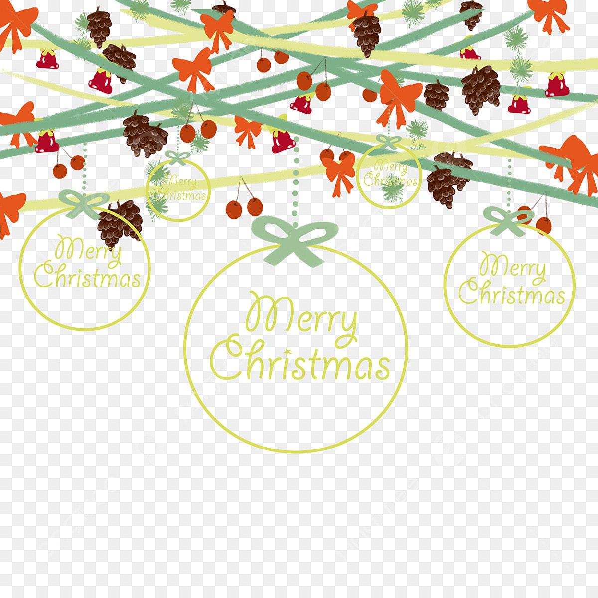 Merry Christmas Ribbon Clipart.Christmas Christmas Pine Cone Christmas Bow Merry Christmas