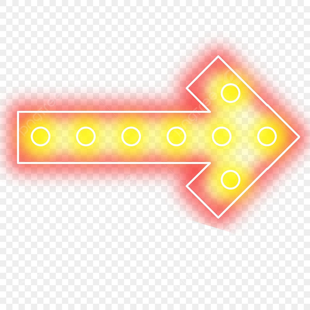 Christmas Arrow Png.Christmas Neon Lamp Illuminate Glare Arrow Direction Png