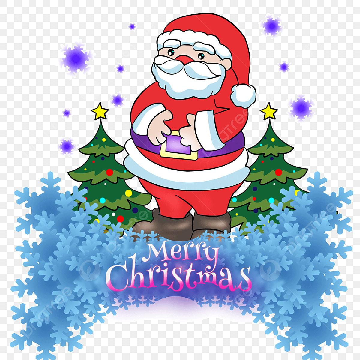 Natal Papai Noel Arvore De Natal Toques Toques Colorido