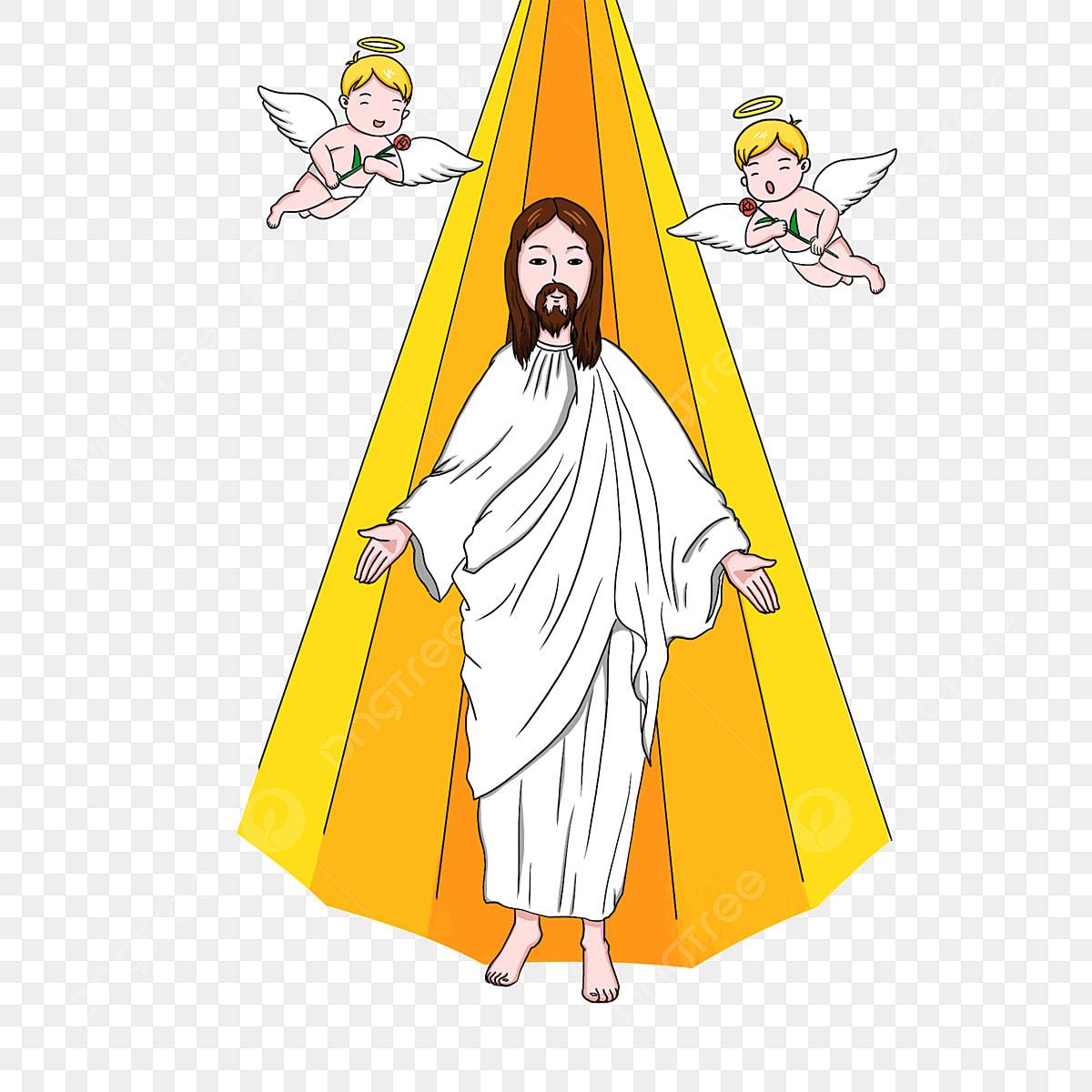 Weihnachten Gelb Kleiner Engel Christentum Weihnachtsgelbe