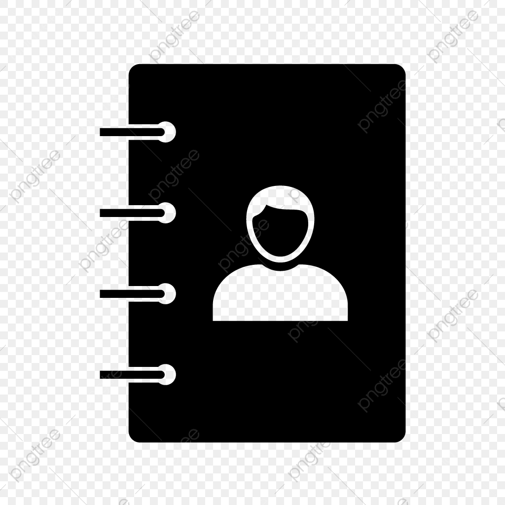 Contacts Glyph Black Icon Black Icons Icon Icons Png And Vector With Transparent Background For Free Download