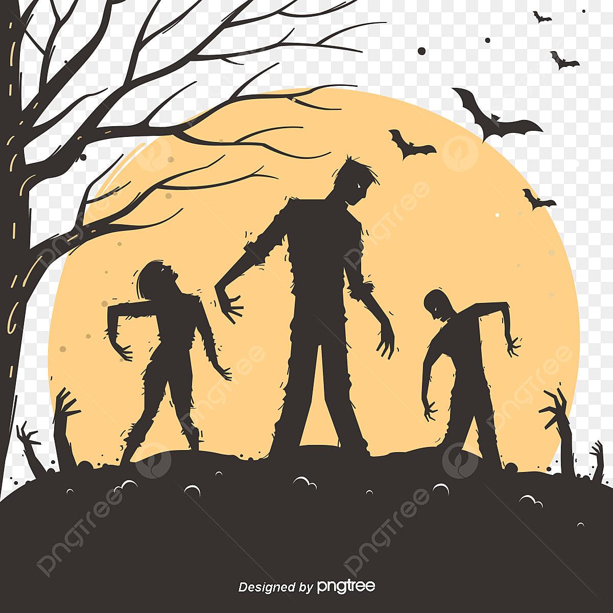 Desenho De Morcego Halloween Zombie O Dia Das Bruxas Zombie O