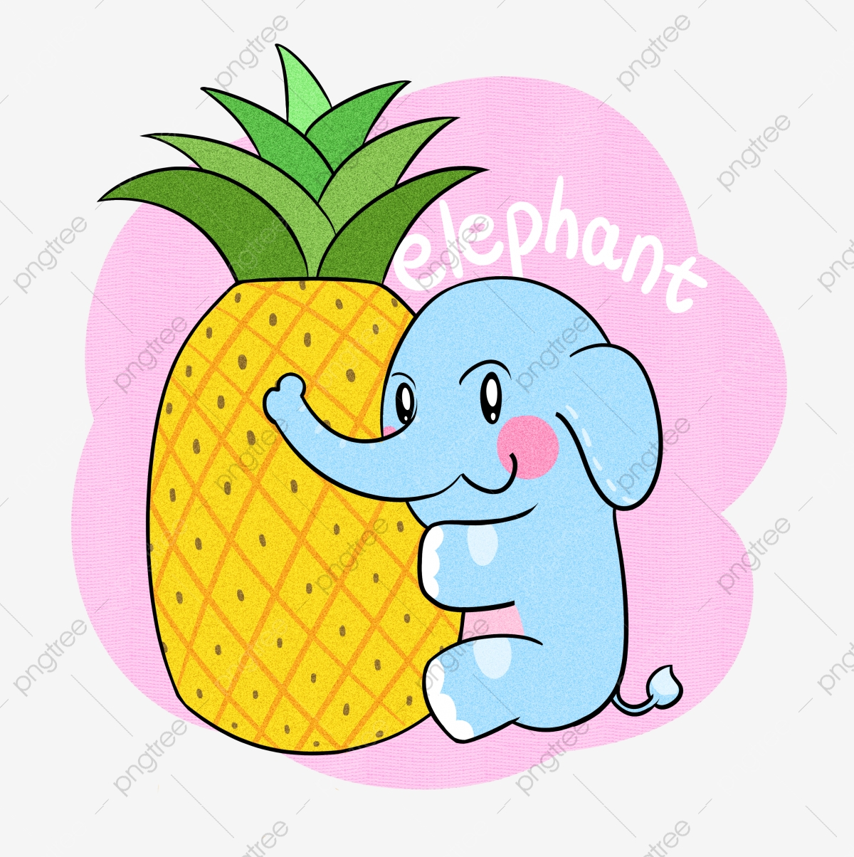 Elephant Pineapple Animal Cartoon Lovely Hand Drawn Cartoon Hand Painted Png Transparent Clipart Image And Psd File For Free Download It is a free clip art image of a elephant cartoon character eating a banana. https pngtree com freepng elephant pineapple animal cartoon 3961891 html