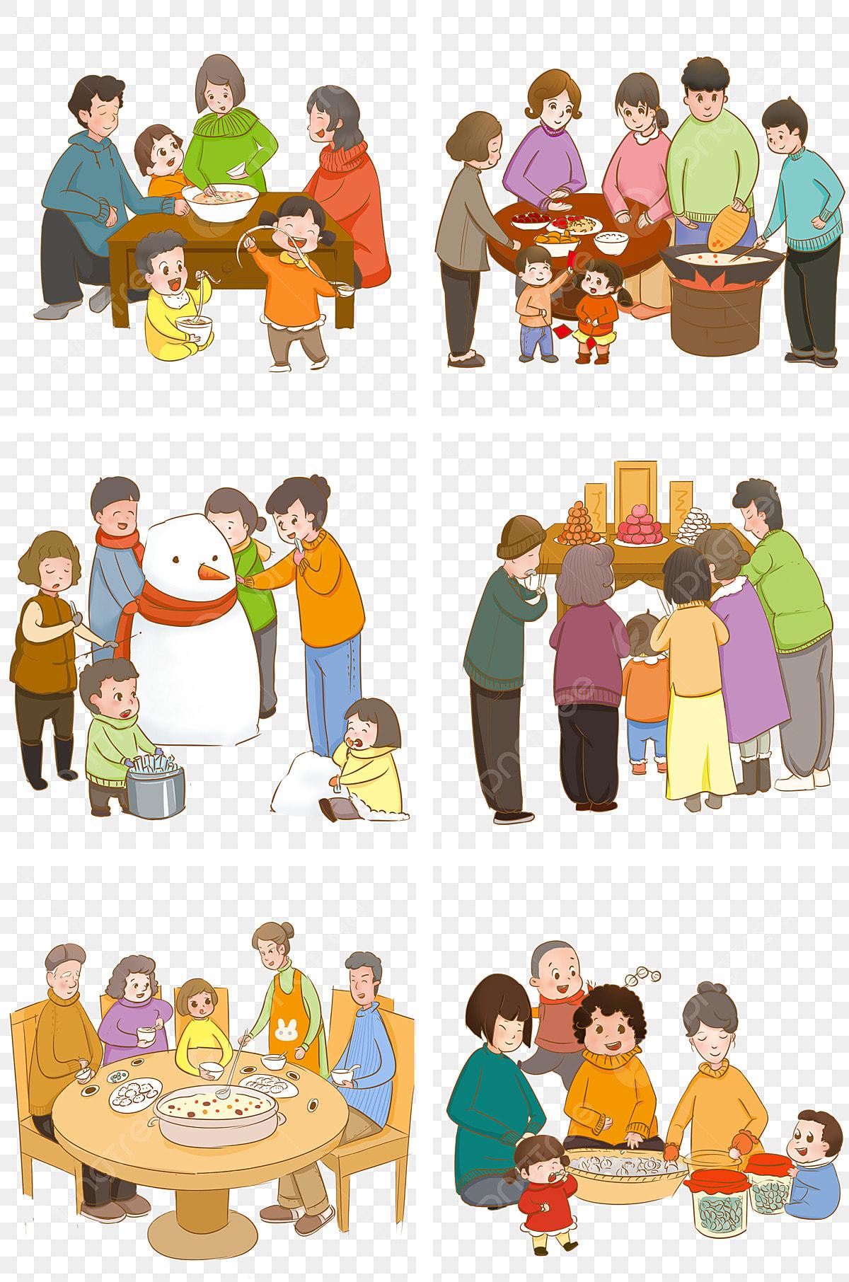Reuni Keluarga Mendorong Perayaan Festival Musim Salji