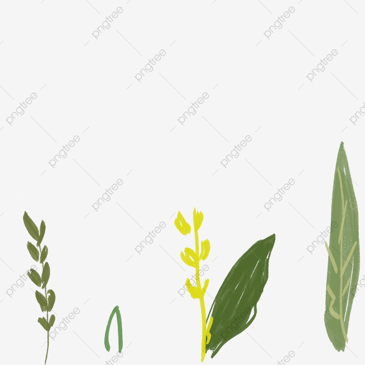 fresh cartoon hand drawn green leaves decoration wheat ears leaves green leaf yellow flower leaf embellishment leaf ornament png transparent clipart image and psd file for free download https pngtree com freepng fresh cartoon hand drawn green leaves decoration wheat ears leaves green leaf 3979953 html