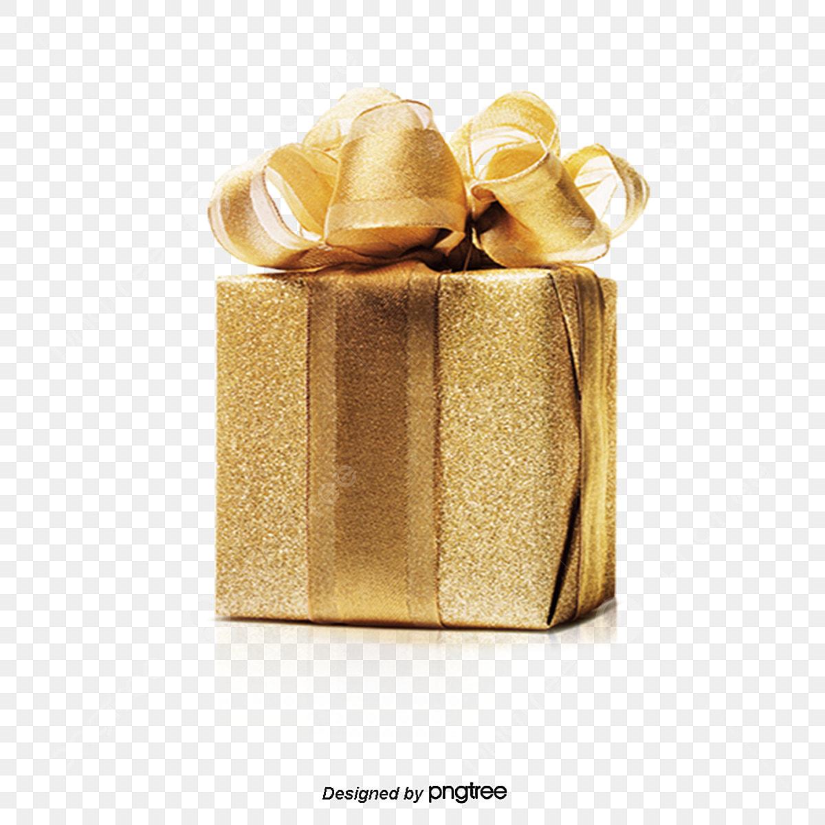هدية عيد الميلاد العناصر الذهبي عنصر عيد الميلاد هدية Png وملف Psd للتحميل مجانا
