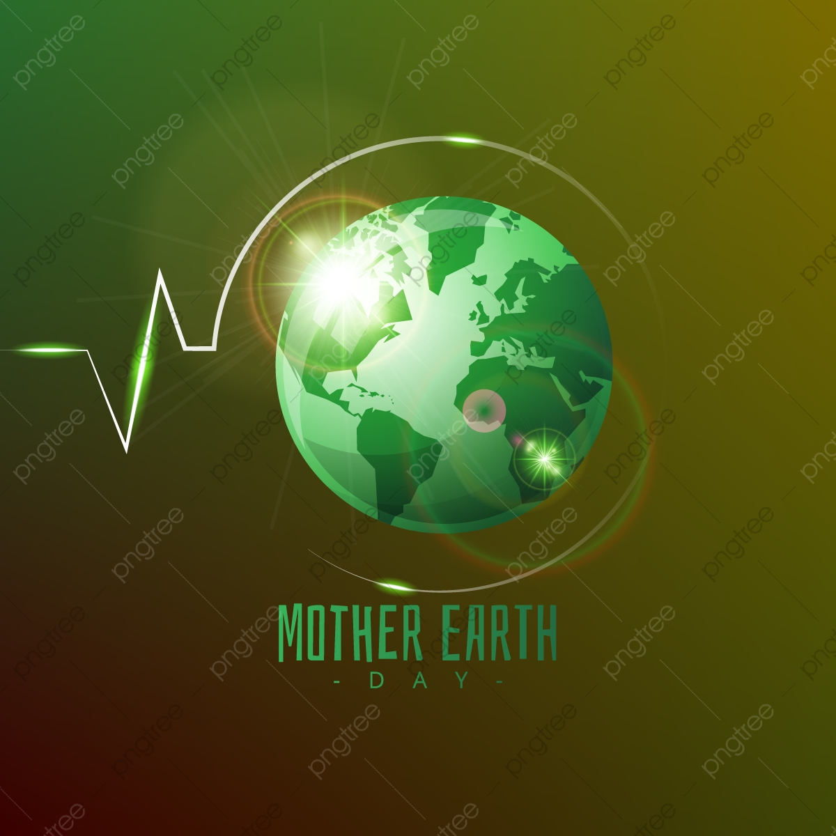 Gradient Mother Earth Day Background Earth Day Clipart Earth Mother Png And Vector With Transparent Background For Free Download