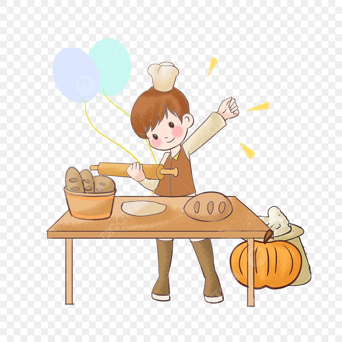 Illustration De Personnage De Dessin Animé De Thanksgiving