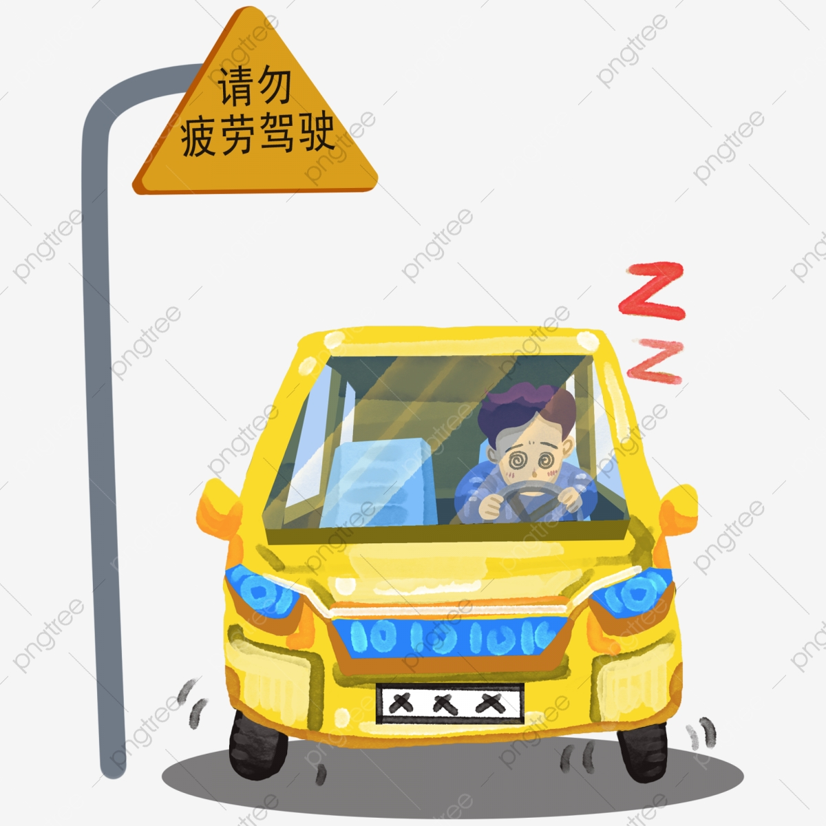 Old Lady Driver Cartoon Clipart - Full Size Clipart (#3543919) - PinClipart