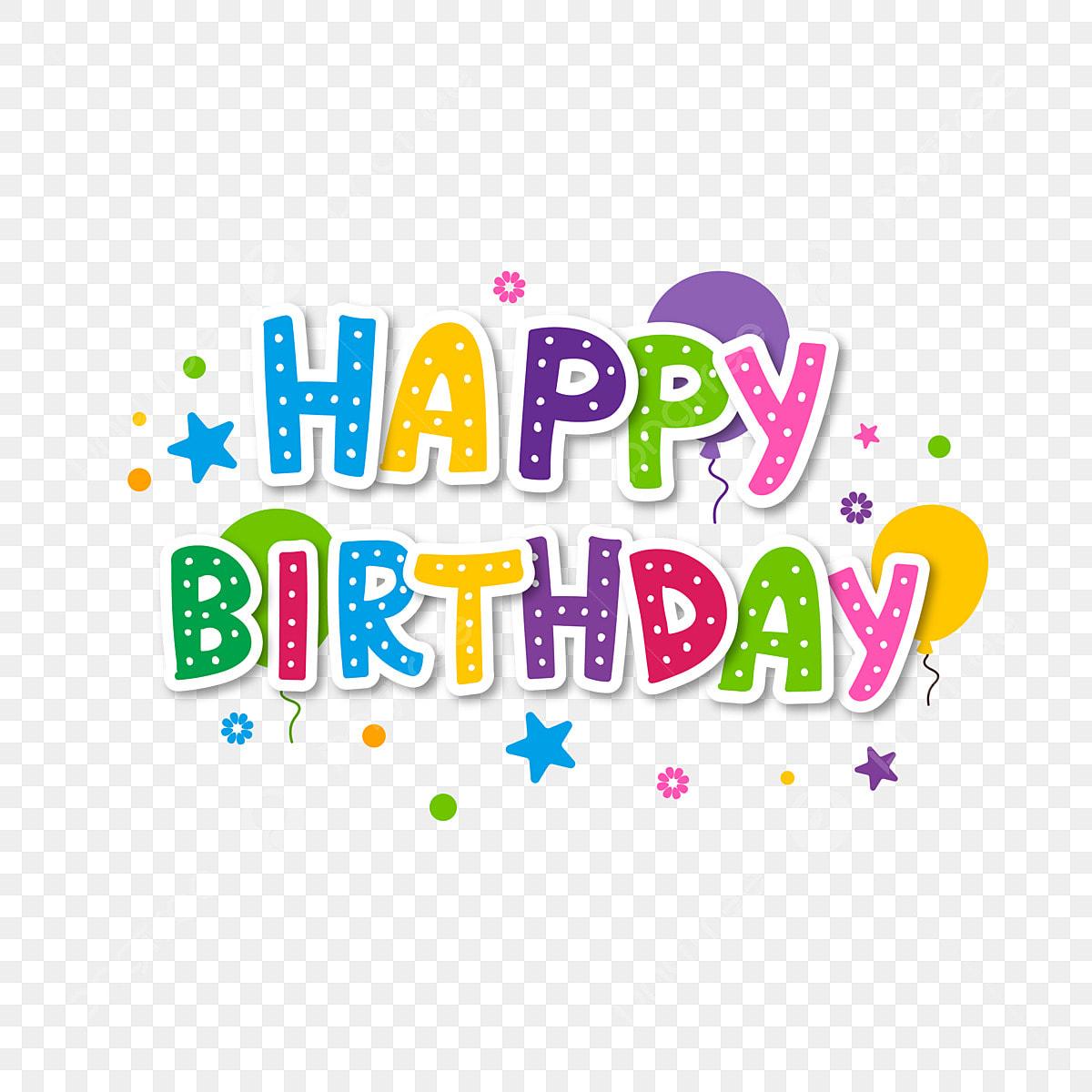Happy Birthday Colorful Greeting Card Label, Birthday, Happy, Card
