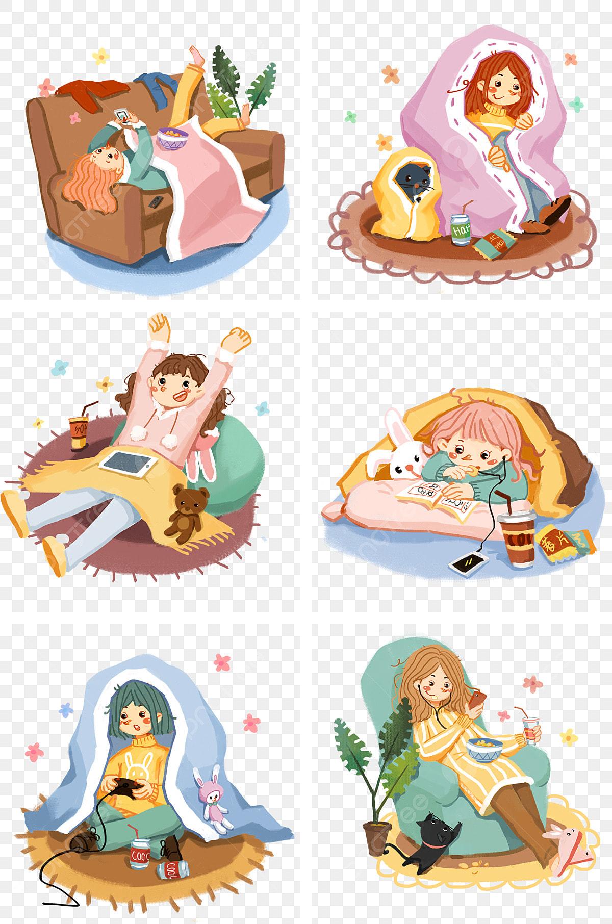 Illustration, Winter warm little house illustration transparent background  PNG clipart | HiClipart