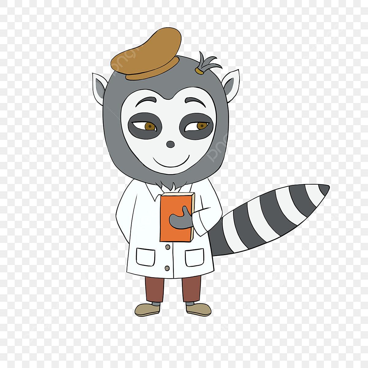 Lemur Animal Clip Art