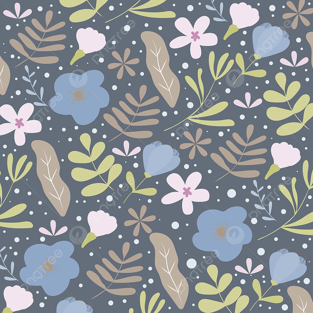 Spring Floral Pattern Or Background Autumn Background Banner
