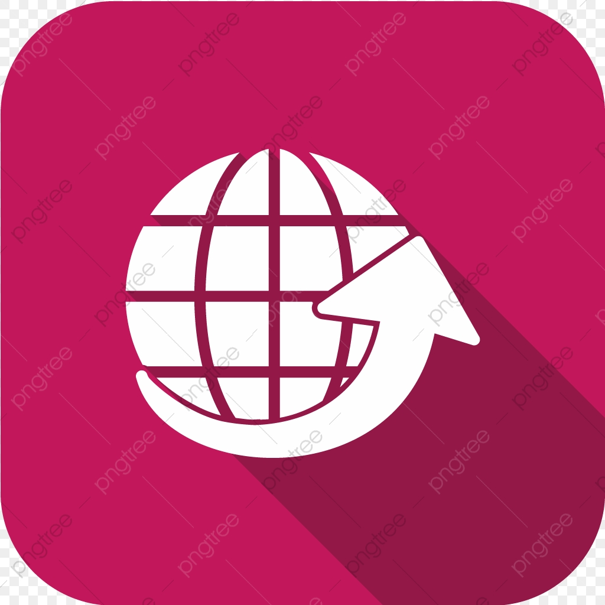 Vector Around The World Icon, Around The World Icon, Globe