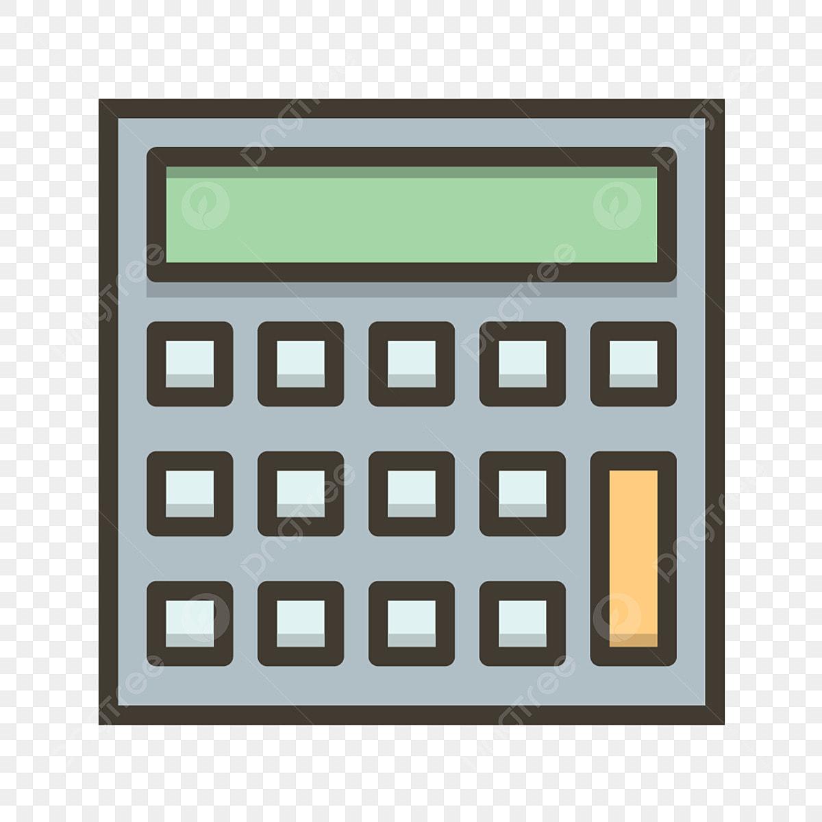 Vector Calculator Icon, Calculator Icon, Calculation Icon