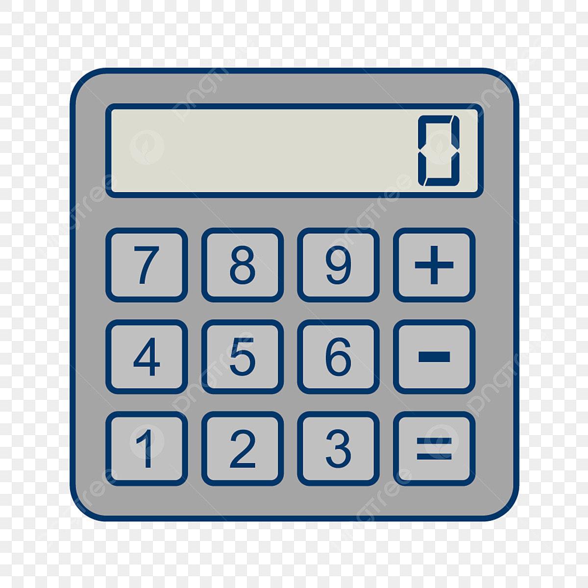 Vector Calculator Icon, Calculator Icon, Math Icon, Calculation Icon