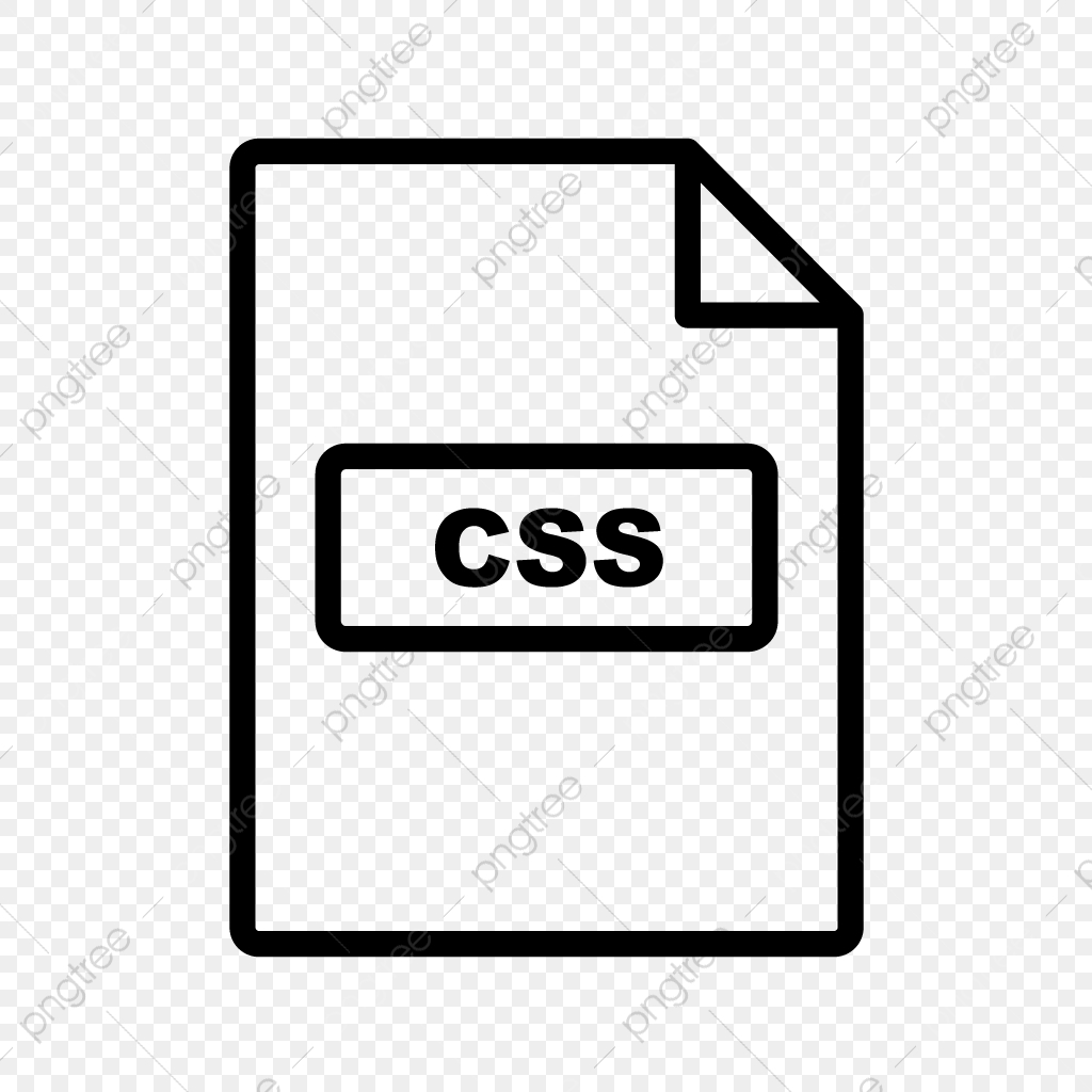 Vector CSS Icon, Css, Document, File PNG and Vector with