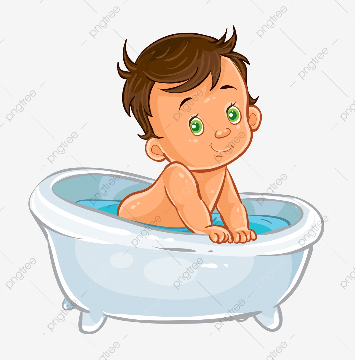 Swimming Child Girl Swimming Child Bow Swimming Blue Swimming Pool Png Pngegg