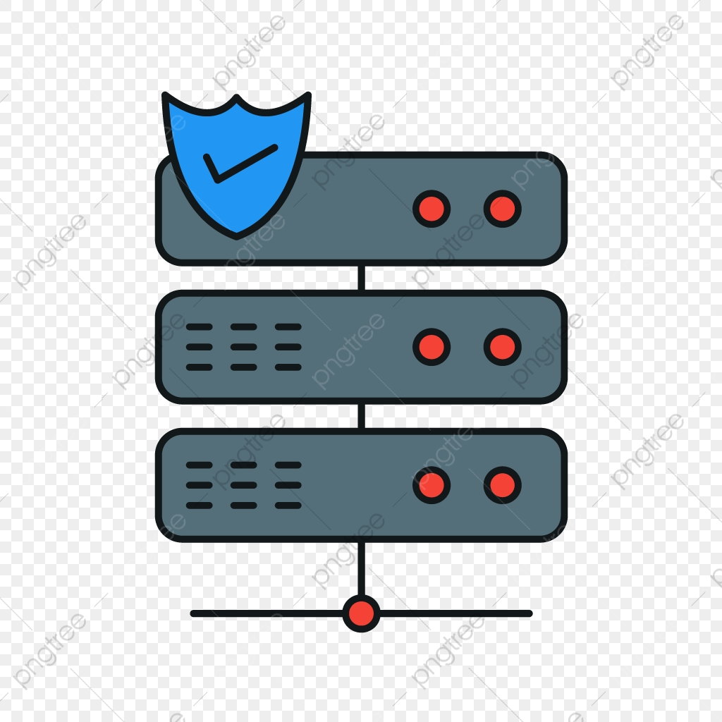 Vector Server Icon, Server, Shield, Protect PNG and Vector
