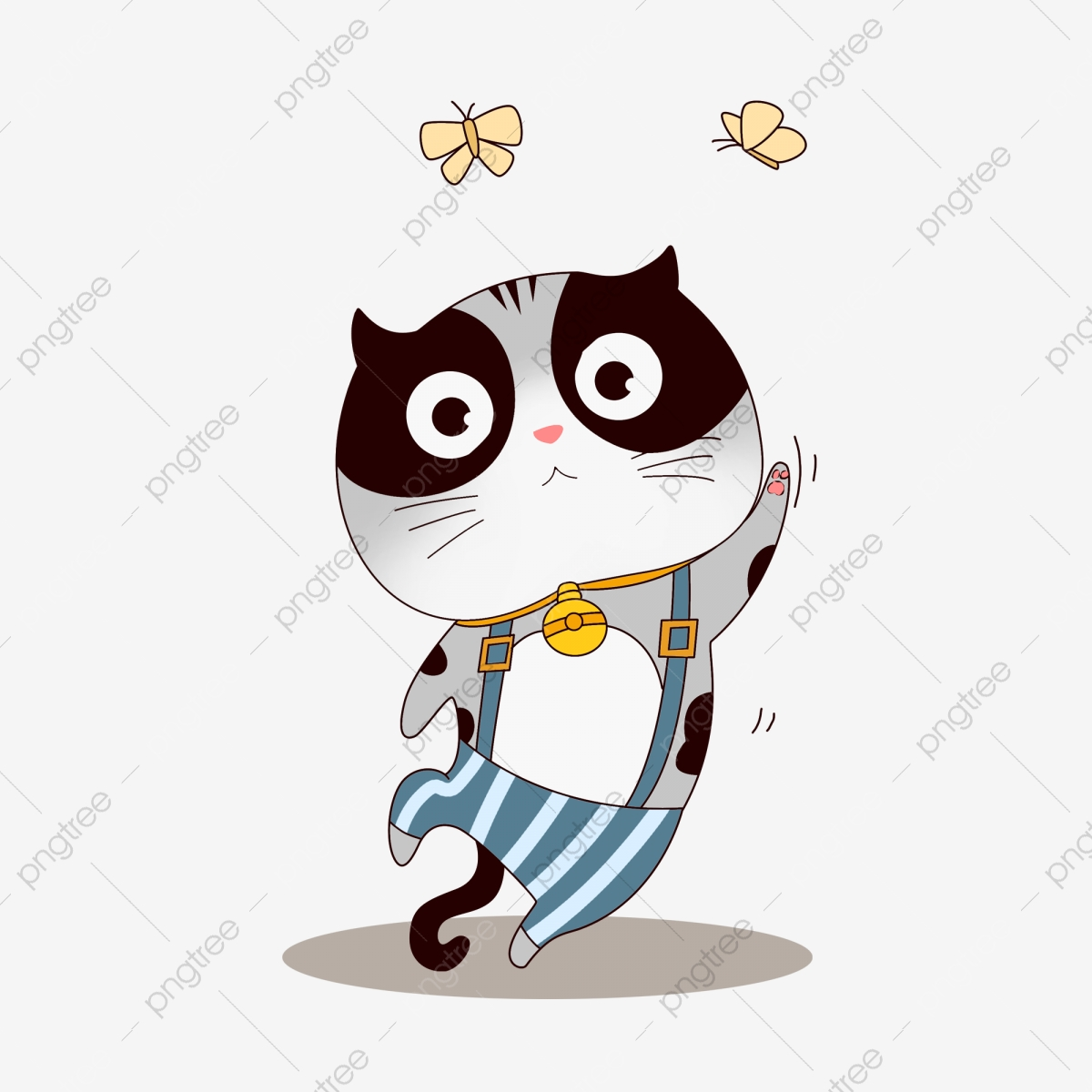 Single Cattail Clipart