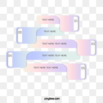 Colorful Gradient Label Chart text box, Ppt, Color, Textbox PNG and PSD