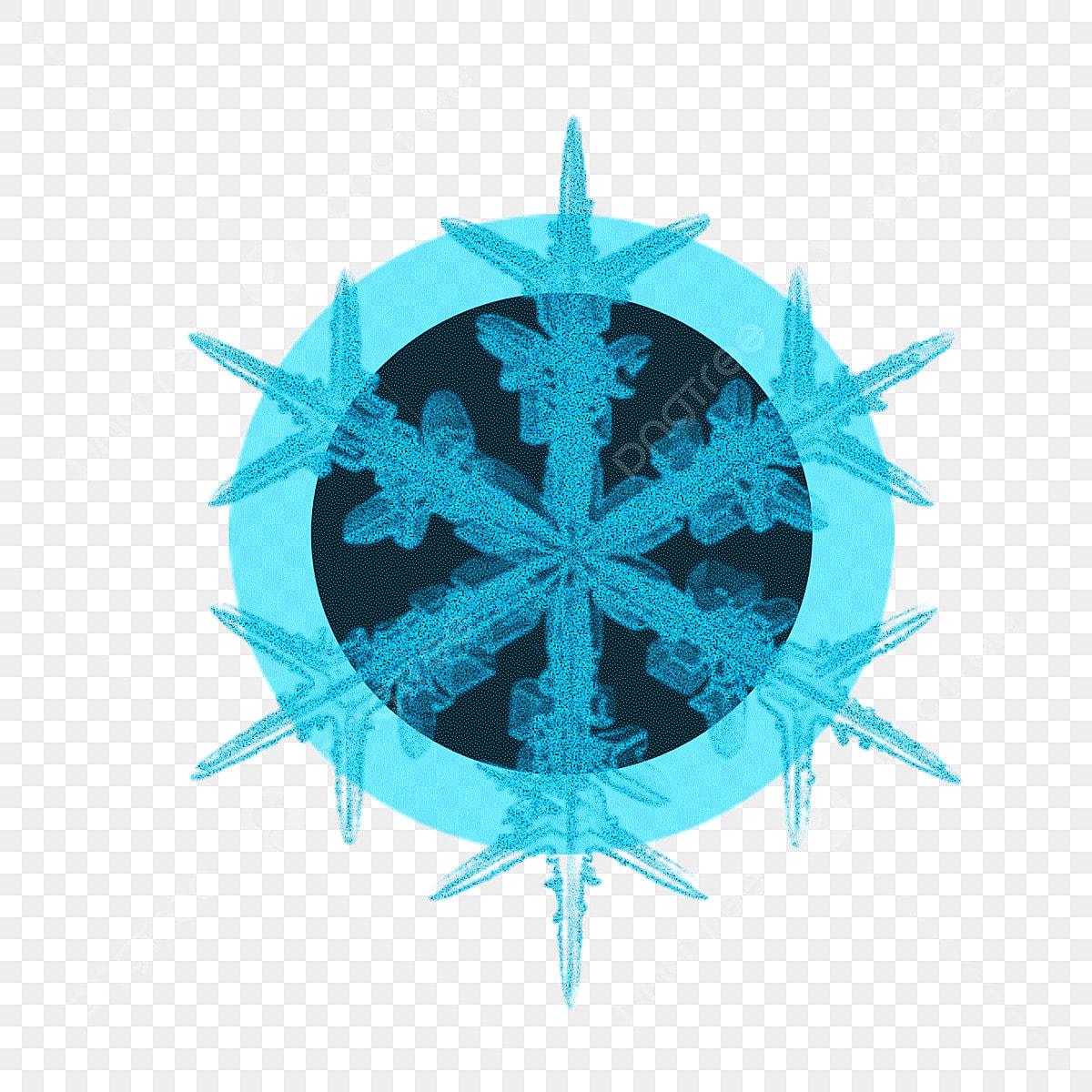 Matériel De Décoration Fleur Glace Bleu Cristal Noir