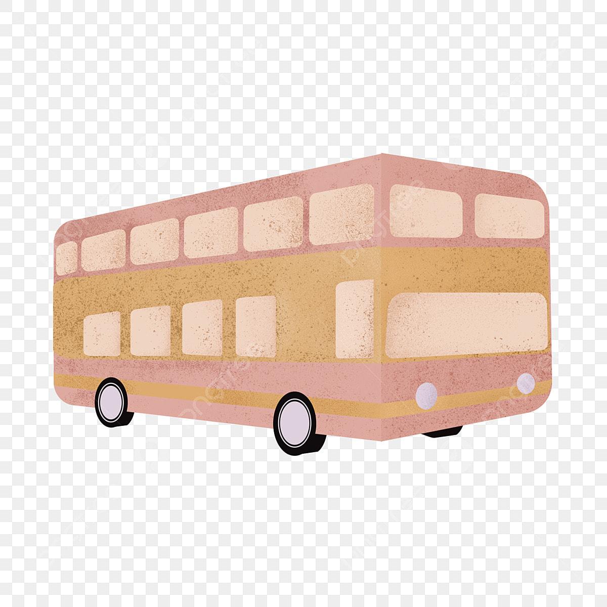 éléments Dillustration Bus Dessin Animé Dessin Animé