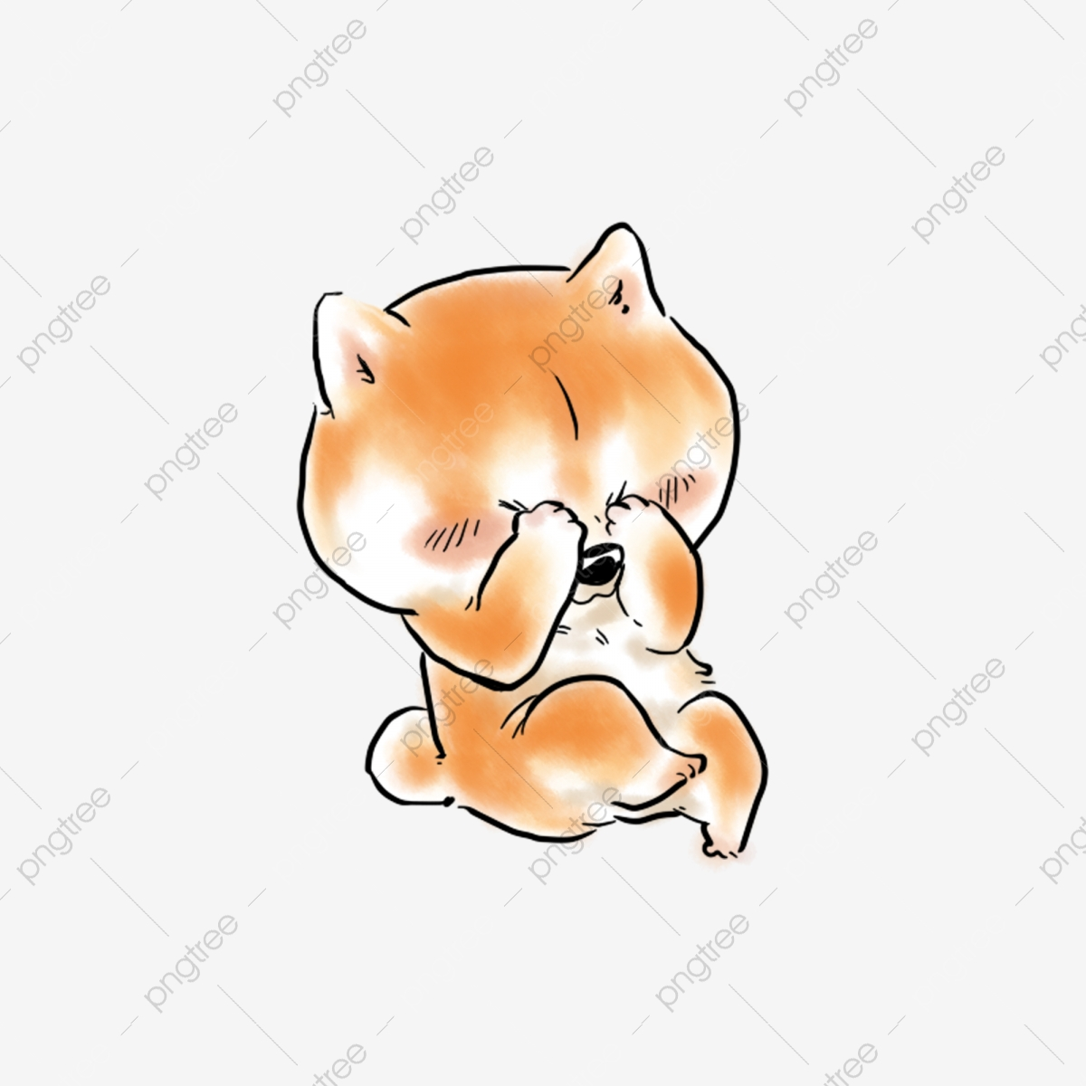 Shiba Inu Png Images Vector And Psd Files Free Download On Pngtree